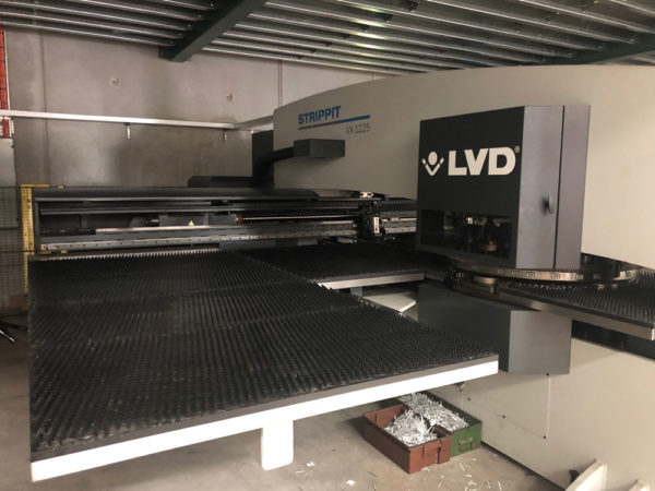 LVD Strippit VX-1225 CNC Turret Punch Press